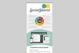 Diseño rollup - Social Shared