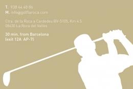 Diseño publicidad - Golf La Roca