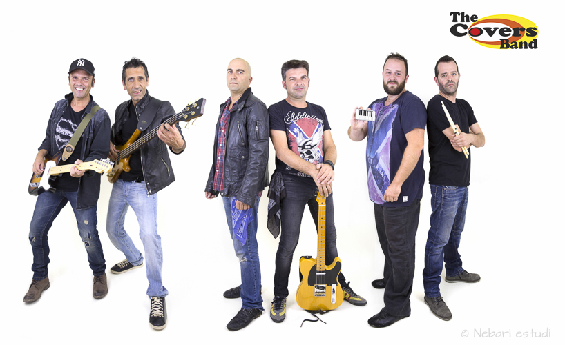 Fotografía de un grupo de música