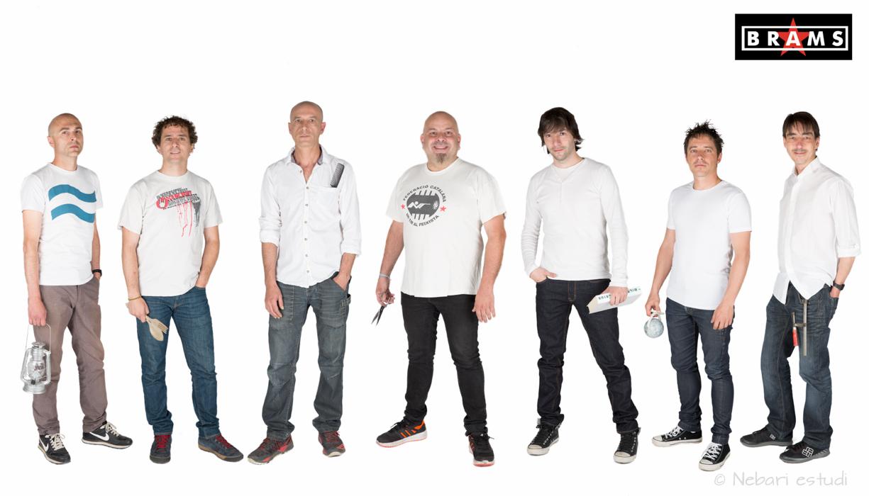 Fotografía del grupo de música BRAMS